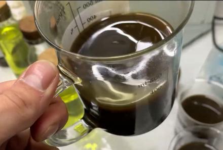 Oil, processed in DEWA-OIL