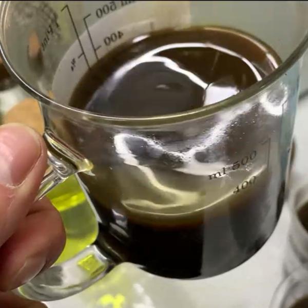 Нефть после обработки в ДЭВА-ОЙЛ