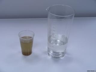 Вода до и после очистки в ДЭВА